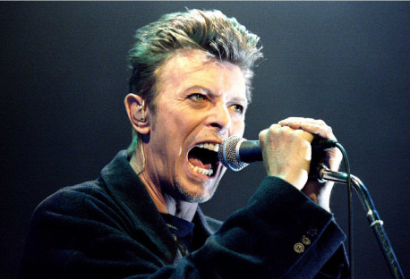 PHOTO:  REUTERS  David Bowie will get $55 million in a bond issue rated triple-A. [970207 BU 1C 2] BOWIE FRI 2/7 PAGE 1C